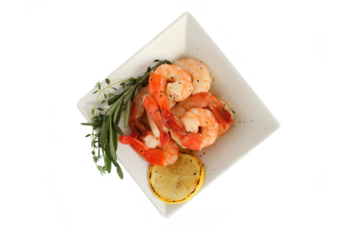 Rosemary and Thyme Prawns